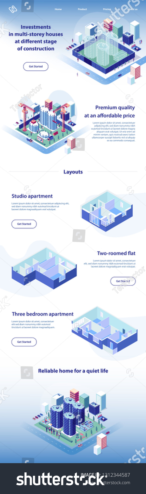 Real estate investment business plan summary. Real Estate Investment House Construction Apartment Stock Vector Royalty Free 1312344587