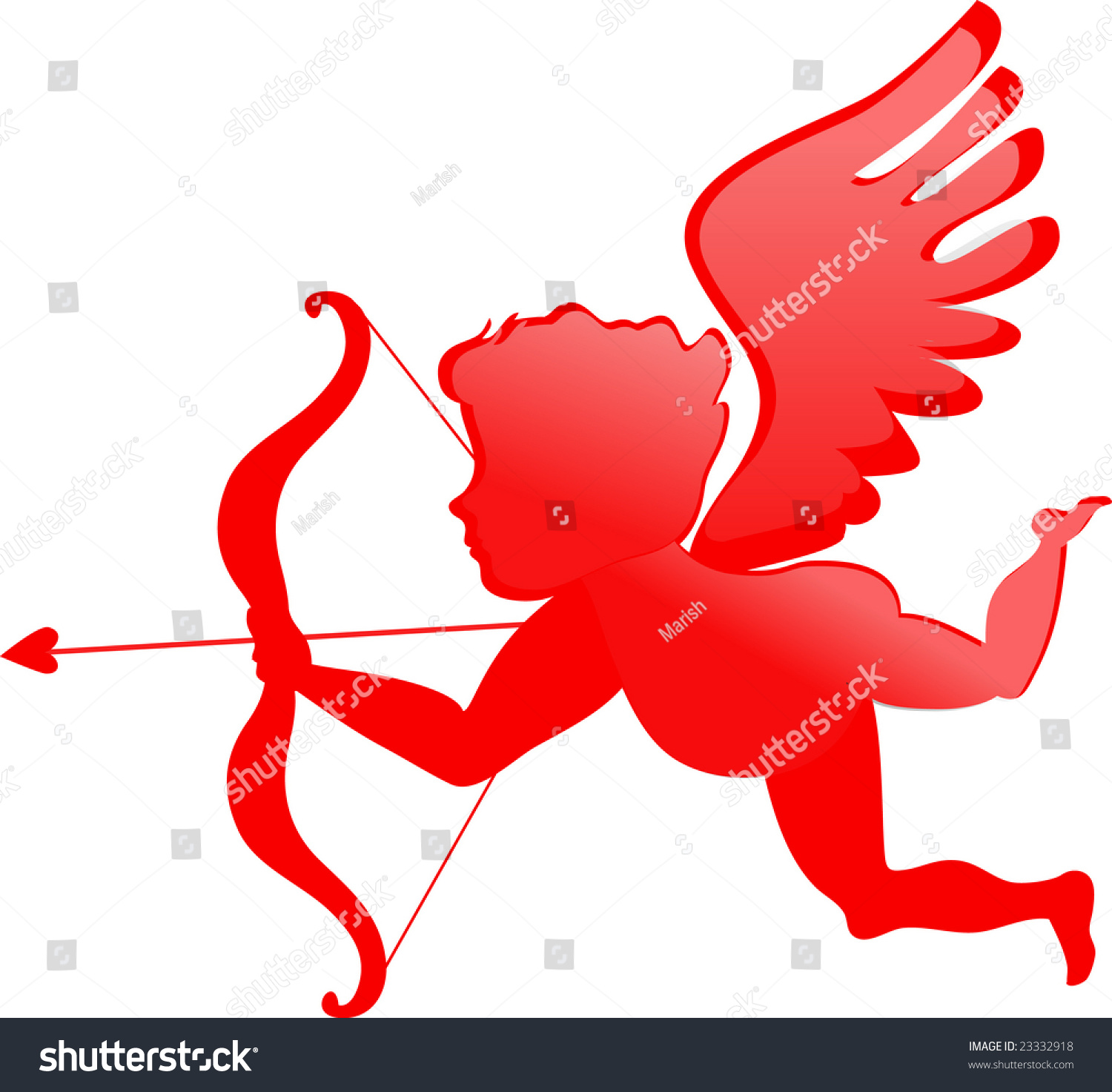 Red Cupid Clipart Wwwimgkidcom The Image Kid Has It