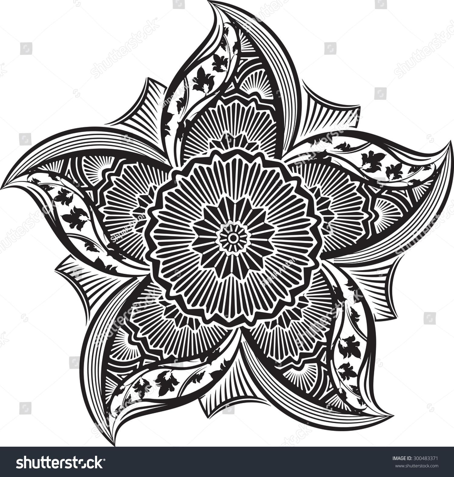 Round Asymmetrical Decorative Element