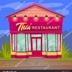 Vector De Stock Libre De Regalias Sobre Thai Restaurant Asia Style Dishes Vector1505757605