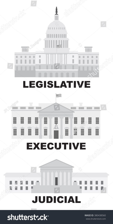 Three Branches United States Government Legislative Stock ...
