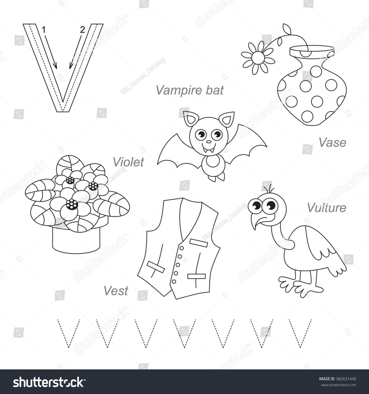 Tracing Worksheet For Children Full English Alphabet From