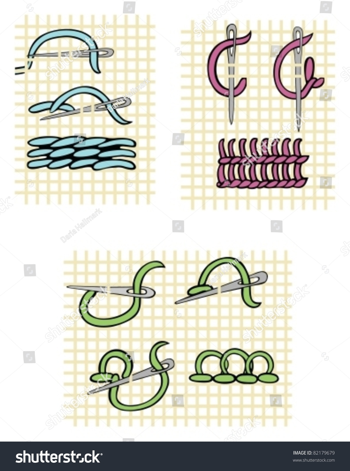 Traditional Crewel Embroidery Stitches How To Step By