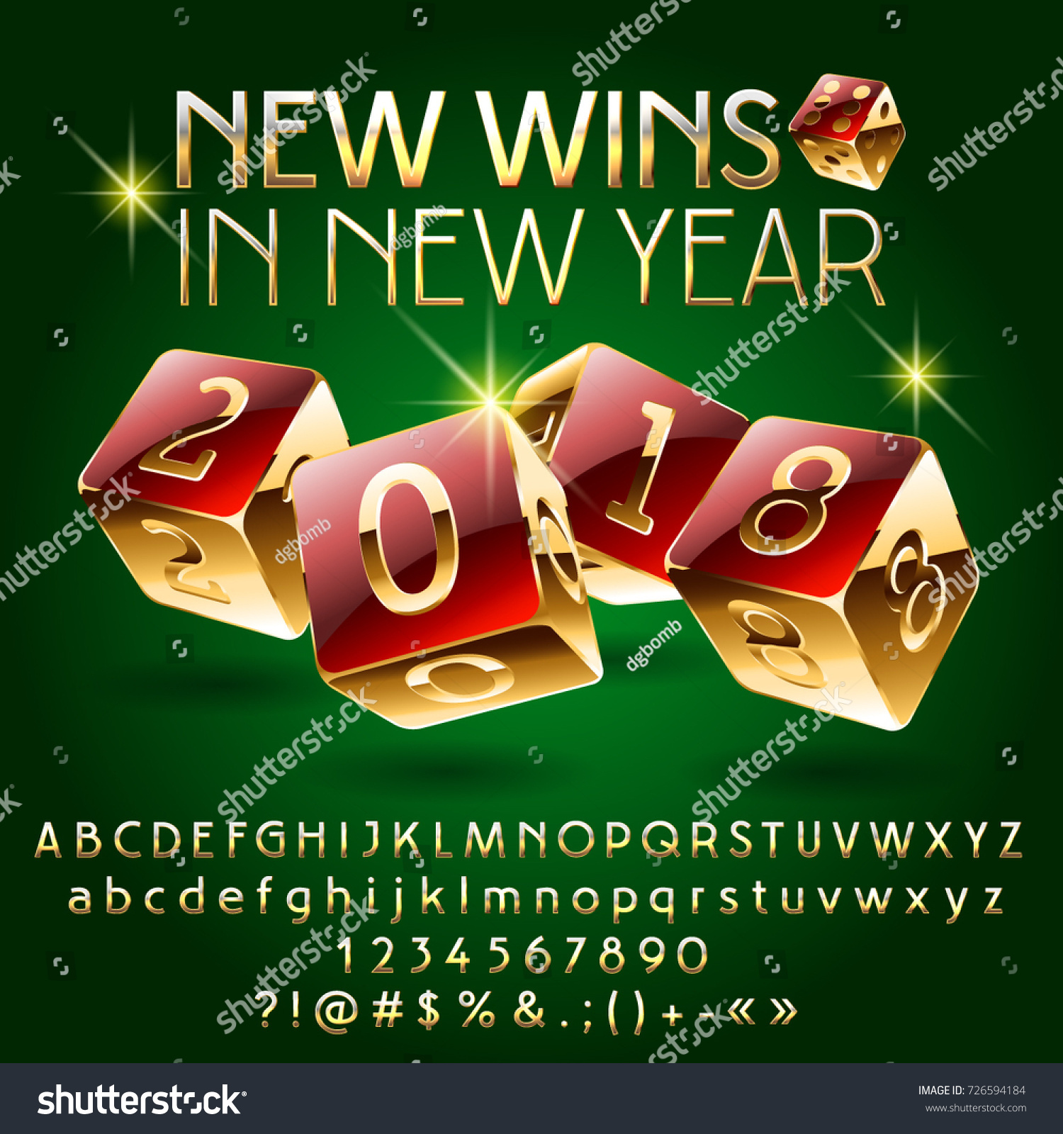 casino new year poster