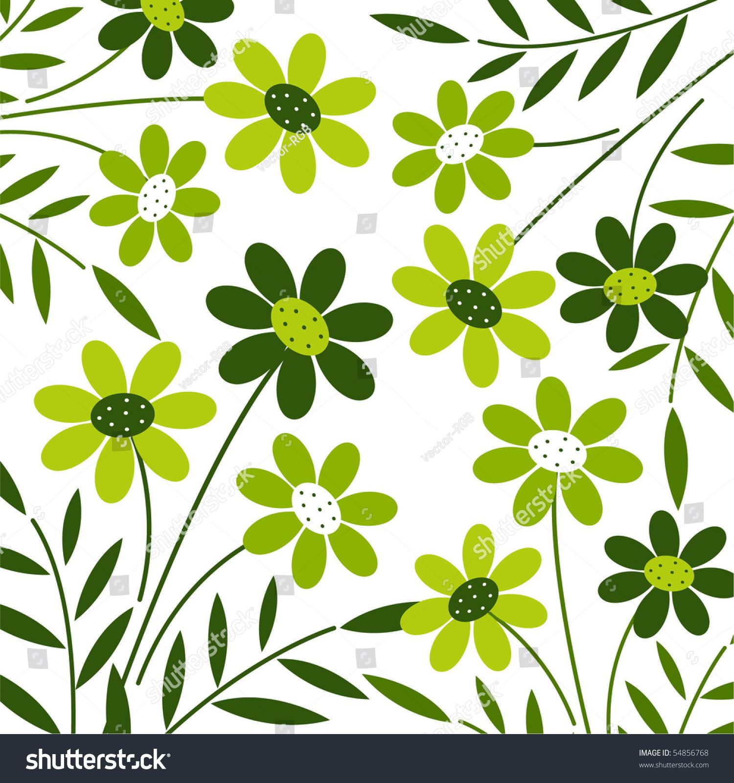 Vector Flower Background Design