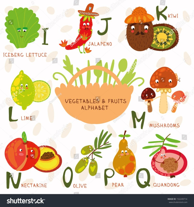 fruits that start with the letter c fruits and vegetables that start with the letter d 21911 | stock vector vector illustration of fruit and vegetables a b c d e f g h letters iceberg lettuce 152249714