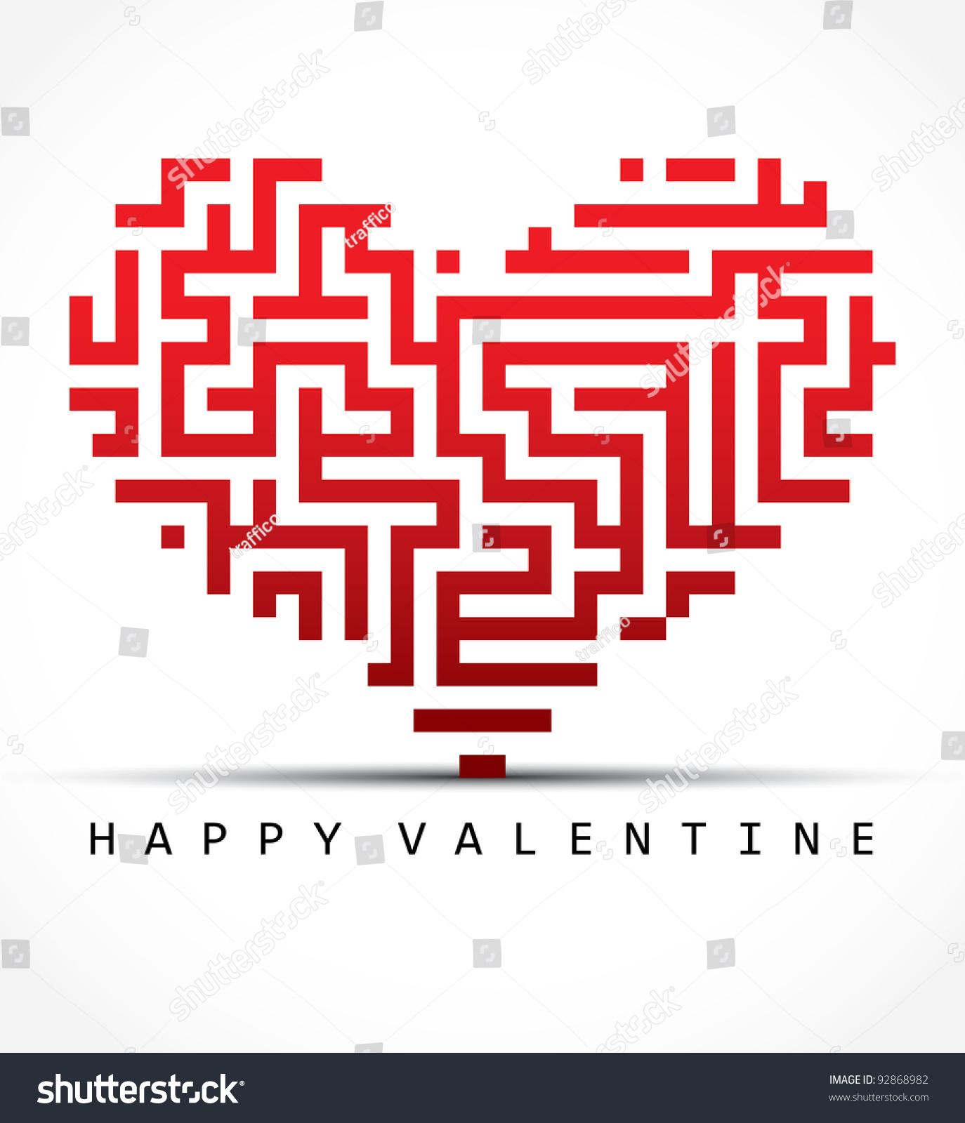 Worksheet Valentine Maze