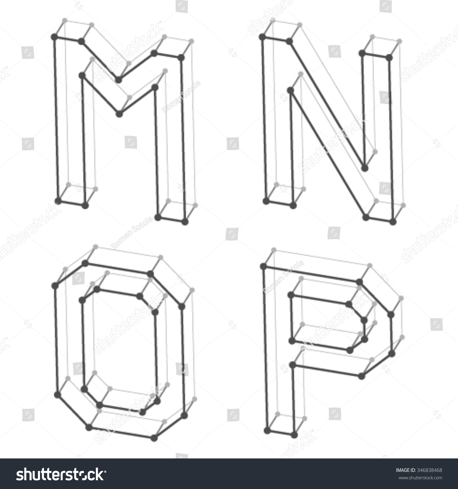 Letter M N O P Worksheet