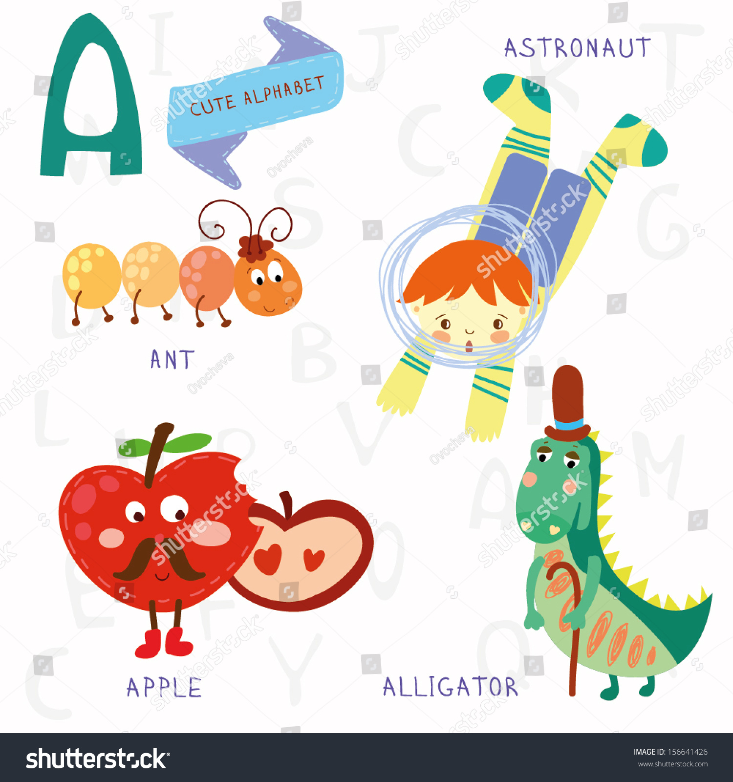 Ants On The Apple Printable Cards