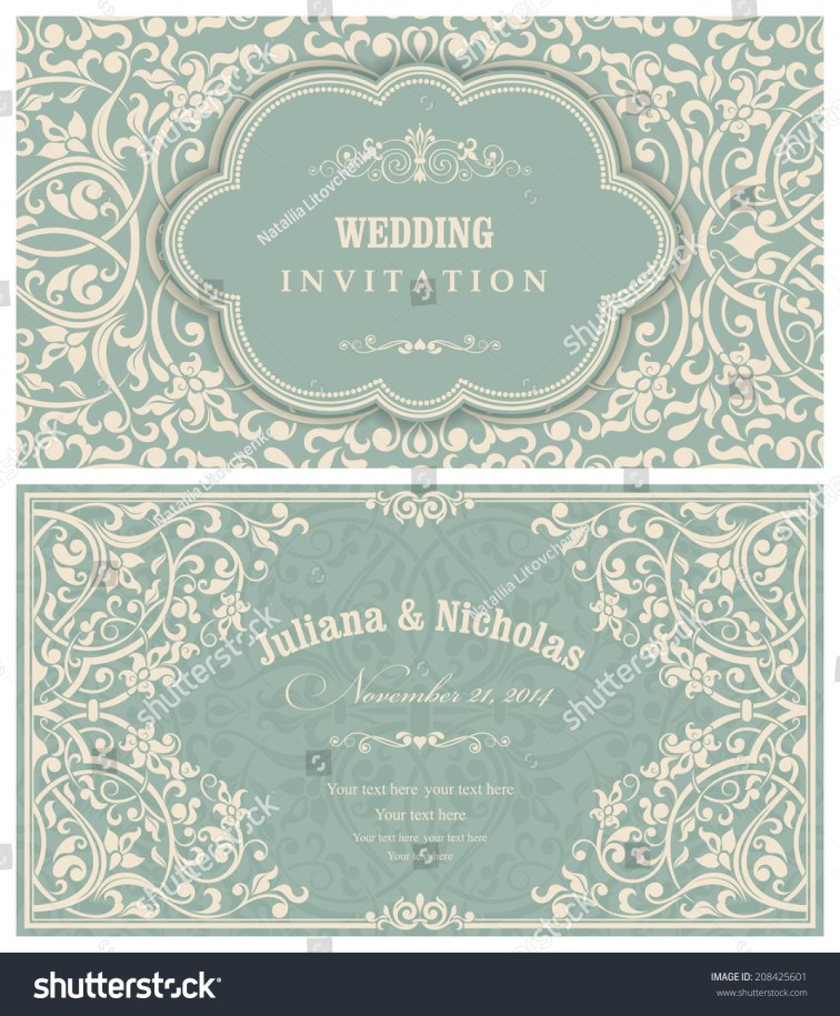fresh victorian wedding invitations wedding views