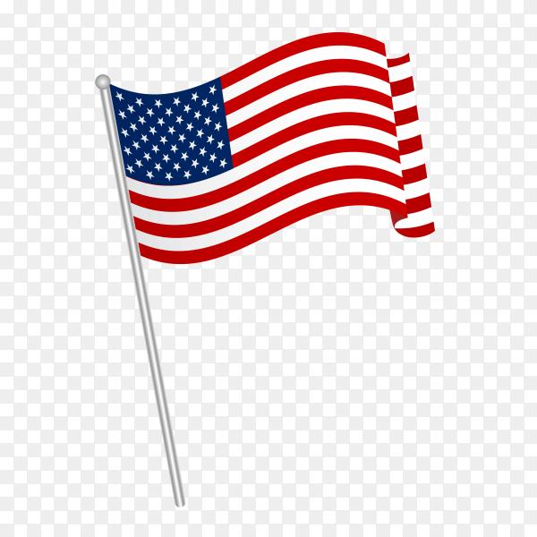 American Flag Vector Png Similar Png