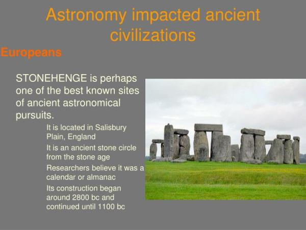 PPT - Astronomy in Ancient Civilization PowerPoint ...