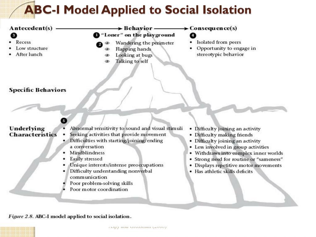 Social Isolation Worksheet