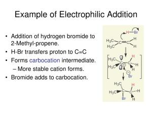 PPT  Alkene: Structure and Reactivity PowerPoint