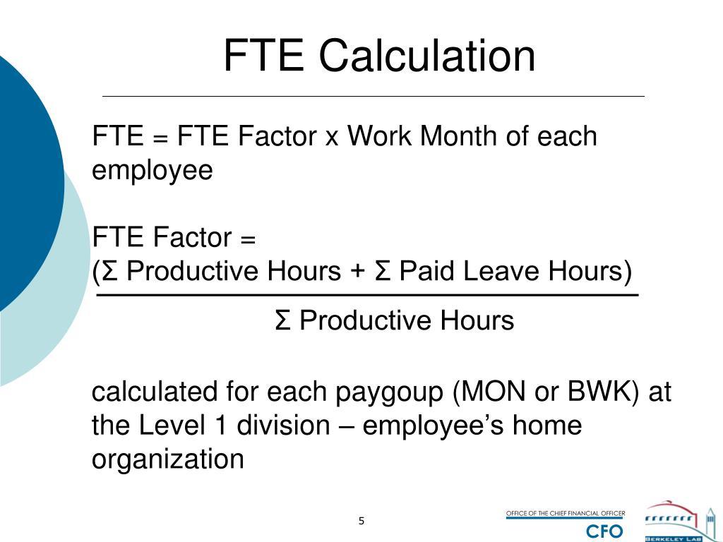 Worksheets Fte Calculation Worksheet Cheatslist Free