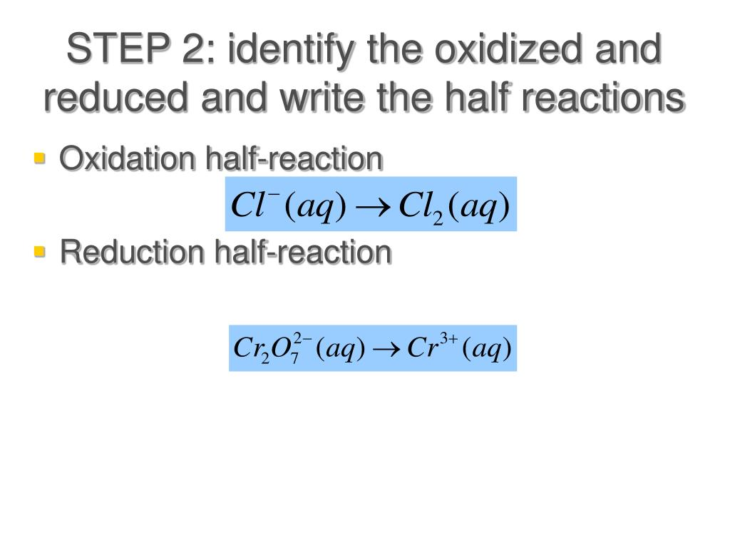 Balancing Redox Reactions Worksheet Acid Solutions