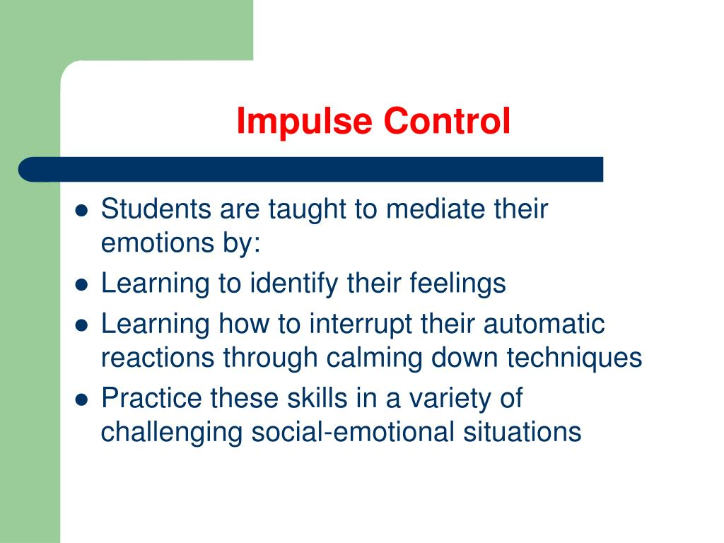 Tips For Impulse Control Adults Chaudeo