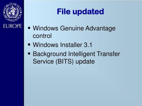 PPT - WSUS Windows Update Services PowerPoint Presentation ...