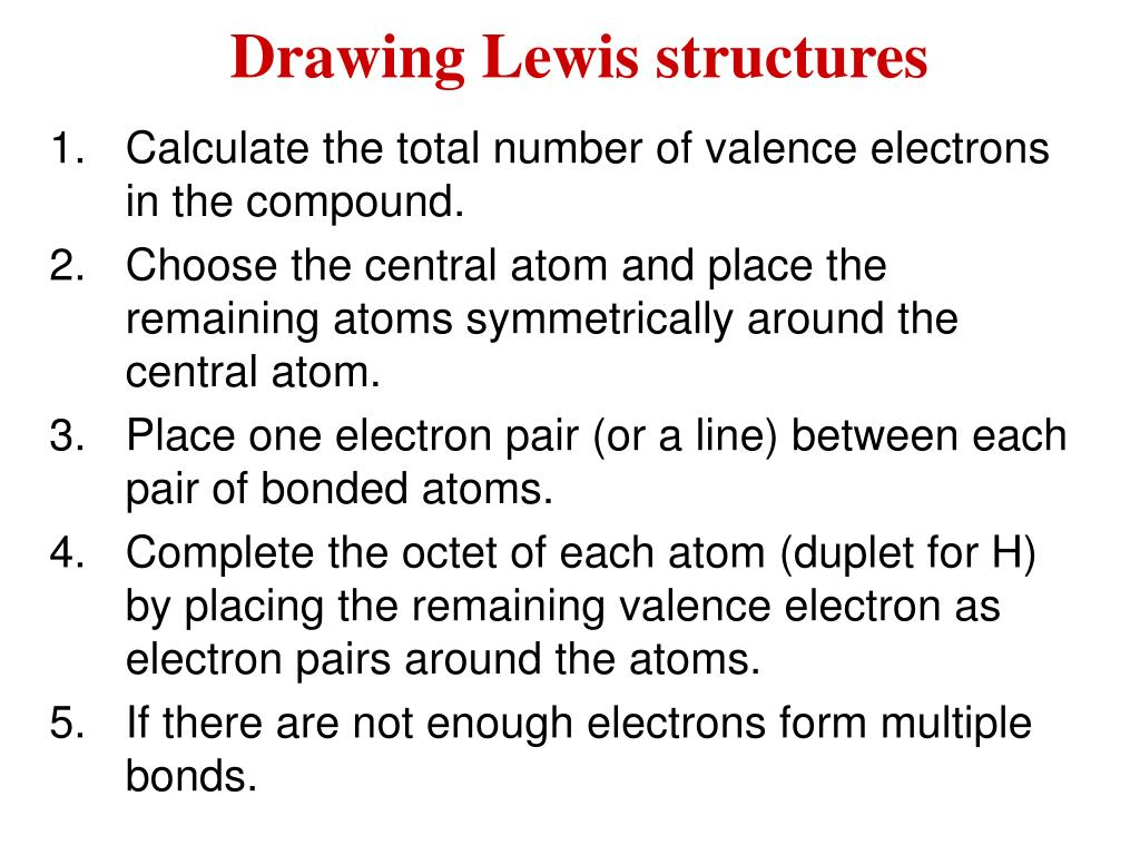 When Drawing Lewis Structures Is It Ever Allowed For An Atom
