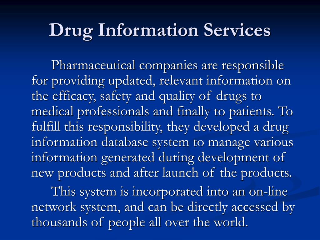 Applications Of Computers In Pharmacy PowerPoint