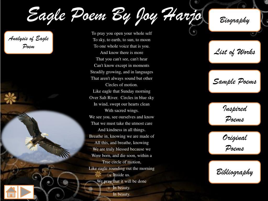 Eagle Poem Joy Harjo Meaning