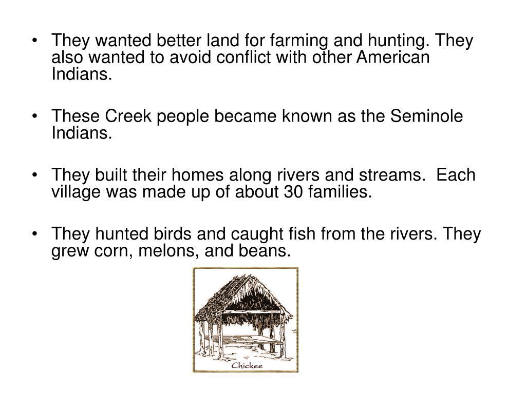 Seminole Fish Hunted Indians