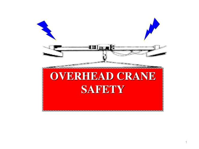 Overhead Crane Safety And Inspection Requirements Ppt - The Best ...