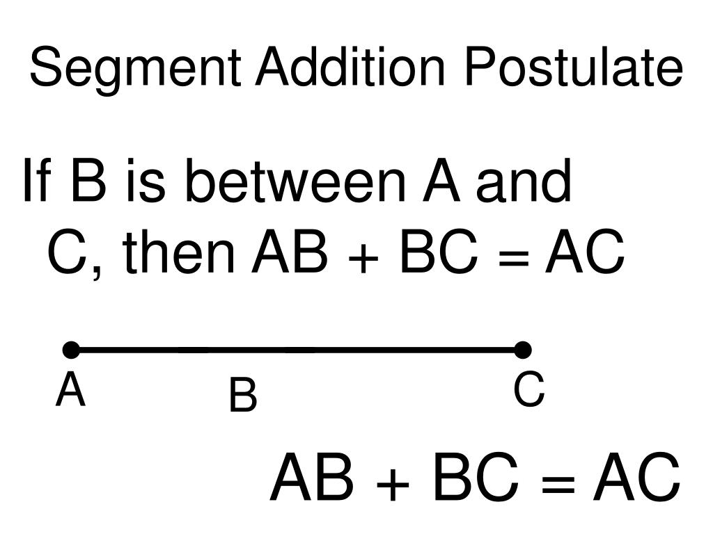 Proofs Segment Addition Worksheet