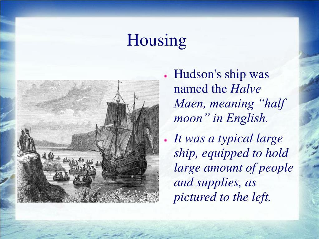 Newfoundland Henry Hudson
