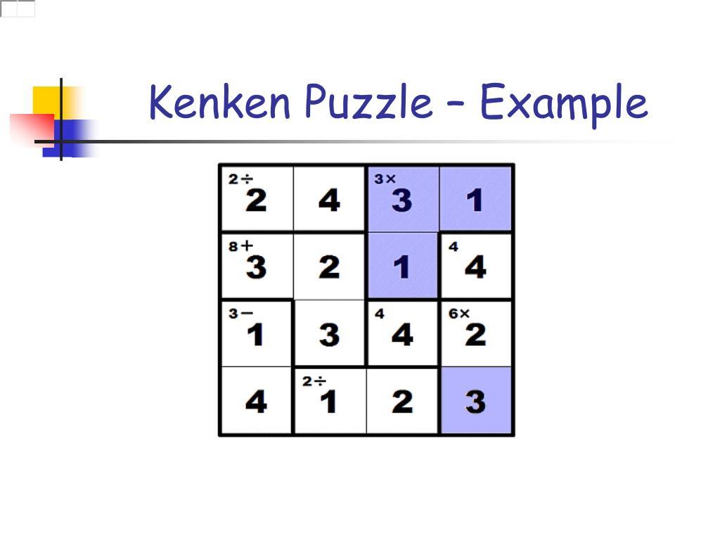Kenken 4x4 Solver