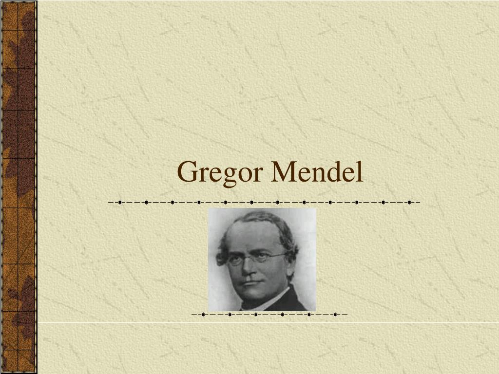 What Was Important About The Work Of Gregor Mendel The 7