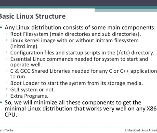 Learn To Be Embedded Linux Training