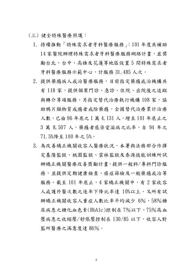 20130318 衛環委員會-衛生署業務報告