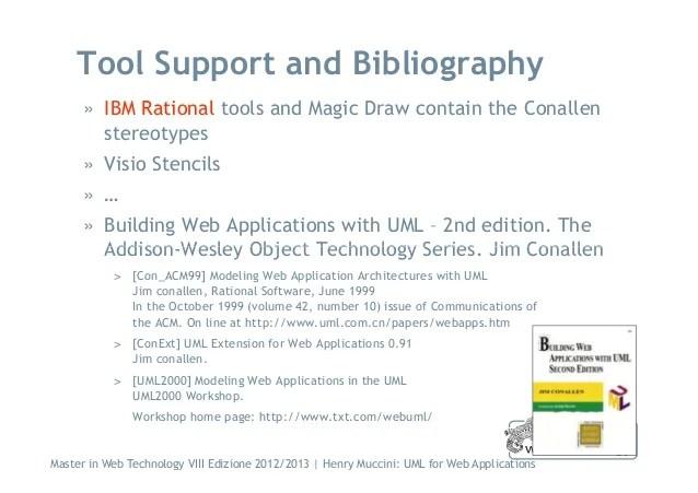 Modellazione UML Per Il WEB: Approccio Di Conallen