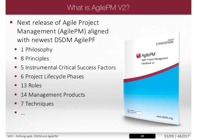 AgilePM® V2 - Agile Project Management V2 - Foundation