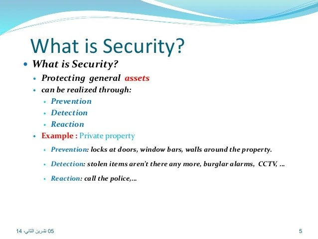 Availability Information Security