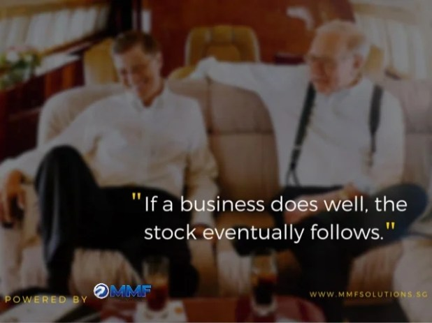 """ If a business does well,  the stock eventually follows. ""  POWERED BY ©i-__l. *w__ WWW. MMFSOLUT