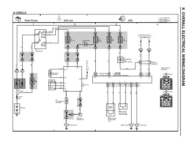 2002 TOYOTA COROLLA WIRING DIAGRAM  Auto Electrical Wiring Diagram