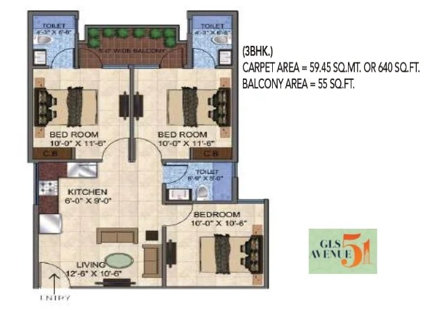 Gls avenue51 sector 92 gurgaon 8010730143