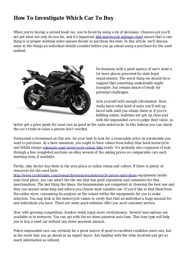 Edmunds Motorcycle Value Guide | Reviewmotors.co