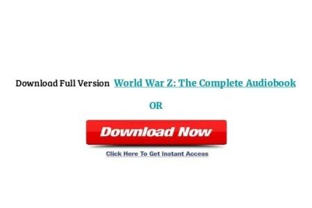 world war z book free
