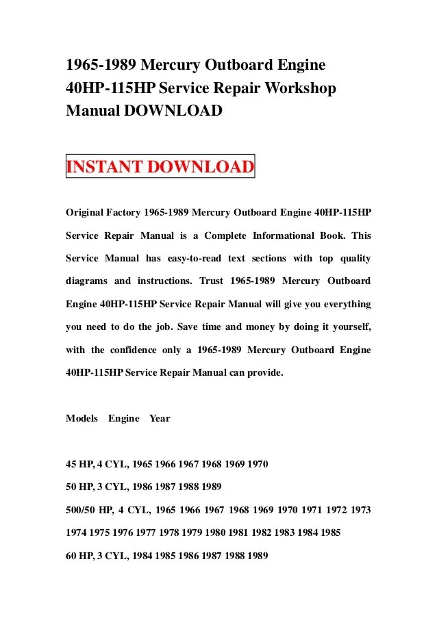 1989 mercury 60 hp 2 stroke manual ebook