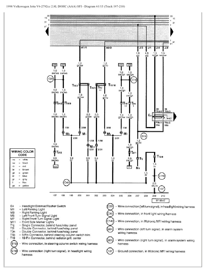 1998 Vw Jetta Gti Wiring Diagram