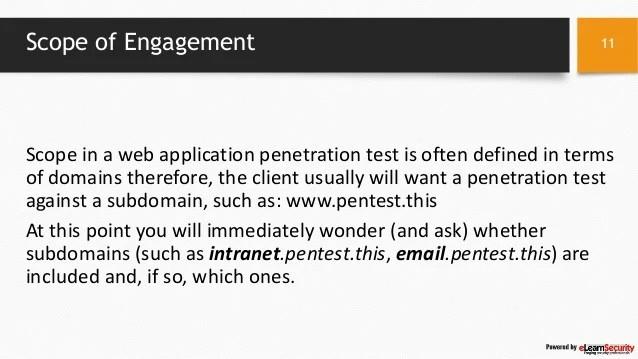 Web Application Vulnerability Testing