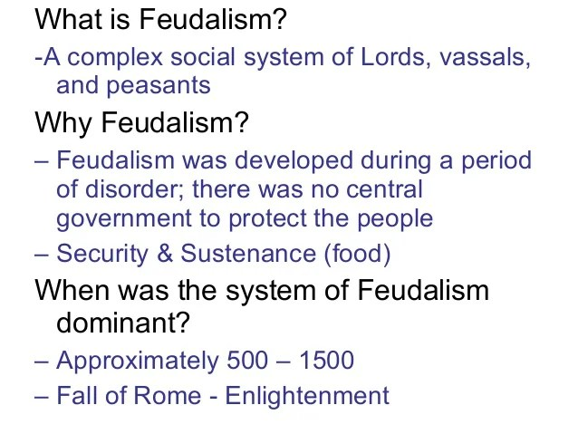 Image result for image of feudalism