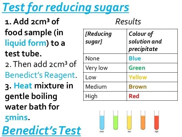 S Solution Benedict Test