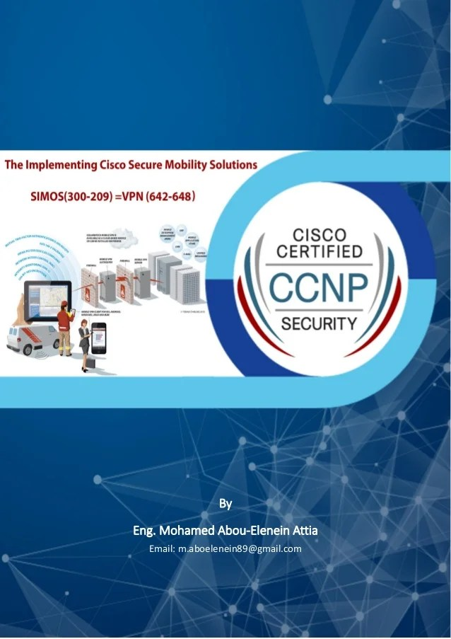 Ccnp Security Technology Course 300 209 Simos