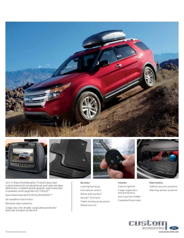 2013 ford explorer brochure wa kent