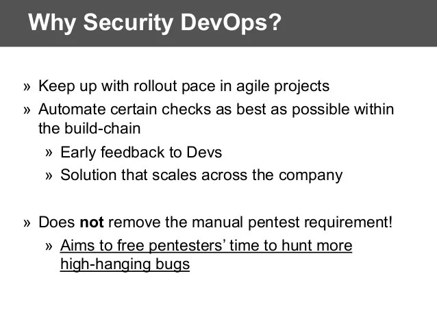 Dynamic Application Security Testing Dast