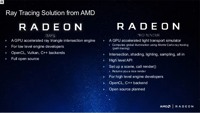 [2017 GDC] Radeon ProRender and Radeon Rays in a Gaming ...